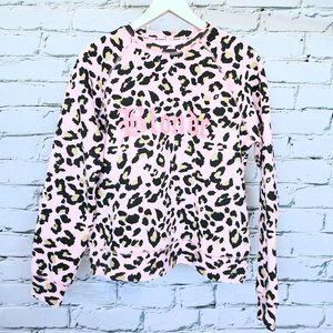 Brunette x Juicy Couture BLONDE Pink Sweater